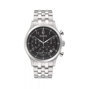 Bulova Orologio Uomo Cronografo in Acciaio 96B357