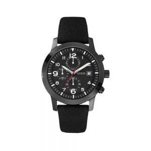 Guess Orologio Uomo Cronografo con Cinturino in Tessuto W12632G1