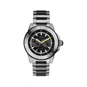 Guess Orologio Uomo Cronografo in Acciaio W16546G2