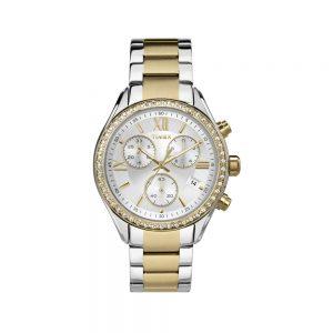 Timex Orologio Donna Cronografo in Acciaio TW2P67000