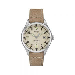 Timex Orologio Donna Solo Tempo con Cinturino in Pelle TW2P84500