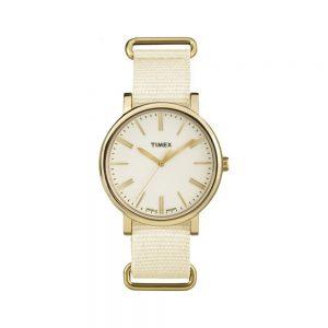 Timex Orologio Donna Solo Tempo con Cinturino in Tessuto TW2P88800