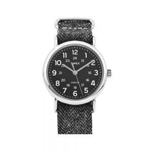 Timex Orologio Uomo Solo Tempo con Cinturino in Tessuto TWG012400