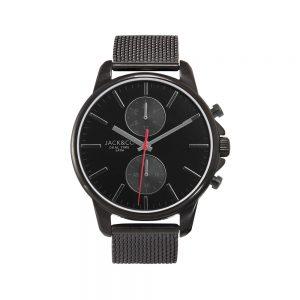 Jack&Co Orologio Uomo Cronografo in Acciaio Ipv Nero JW0156M1