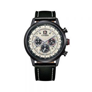 Citizen Orologio Uomo Cronografo con Cinturino in Pelle CA4476-19X