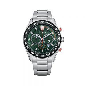 Citizen Orologio Uomo Cronografo in Acciaio CA4486-82X