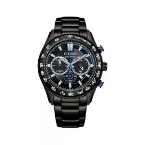 Citizen Orologio Uomo Cronografo in Acciaio Ipv Nero CA4485-85E