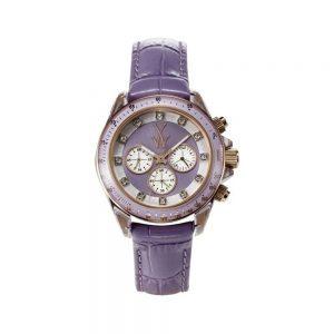 ToyWatch Orologio Donna Cronografo con Cinturino in Pelle TGLS03LI